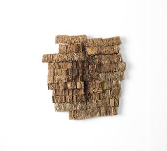 Wallen Mapondera | Zangira Rava Dango (Abstraction Hive) | 2016 | Cardboard Box | 52 x 50 cm