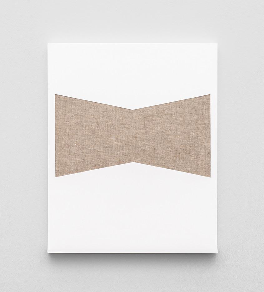 Pierre Vermeulen | Gesso Space nr 4 | 2020 | Gesso on Belgian Linen | 50 x 40 cm