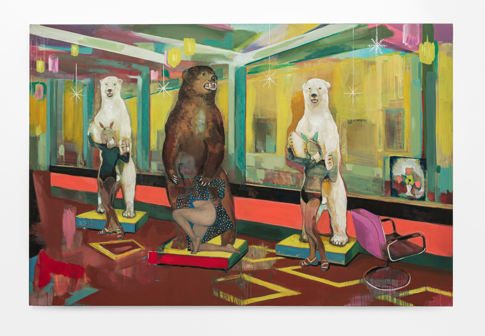 Kate Gottgens | There Is No Ice (for my drink) | 2020 | Oil on Canvas | 200 x 300 cm