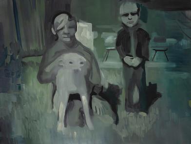 Kate Gottgens | Like Wolves | 2014 | Oil on Canvas | 68 x 90 cm