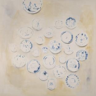 Uwe Wittwer | Wandstück (Wall Piece) | 2012 | Watercolour on Paper | 127 x 111.5 cm