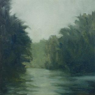 Jake Aikman   N10.799183, W85.551356   2013   Oil on Canvas   31 x 31 cm