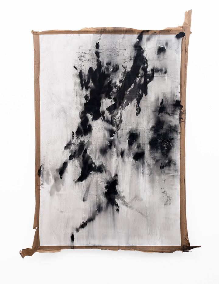 Alexandra Karakashian | Conditions Towards V | 2019 | Oil on Canvas | 157 x 105 cm
