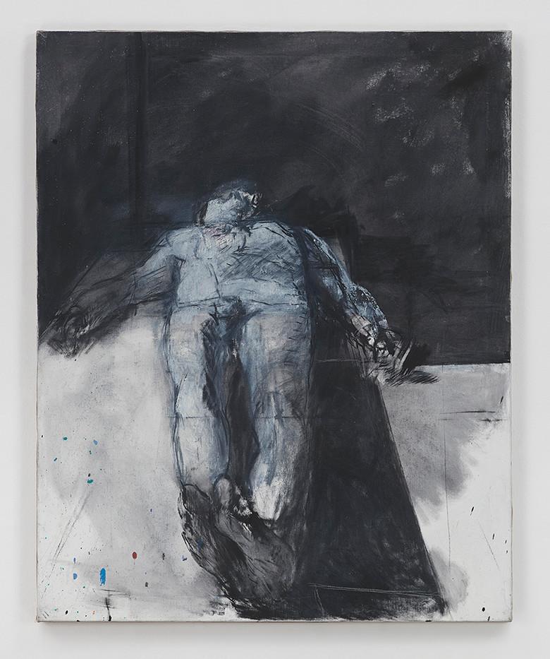 Albert Adams | Abu Ghraib Figure | 2004 | Oil on Canvas | 127 x 102 cm
