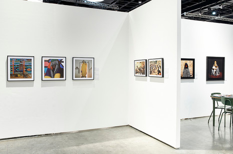Margaret Courtney-Clarke  | FNB Joburg Art Fair | Modern Section | 2017 | Installation View