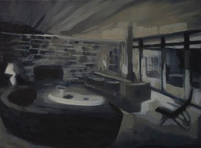 Kate Gottgens | Petty Crime IV | 2012 | Oil on Canvas | 30.5 x 40.5 cm