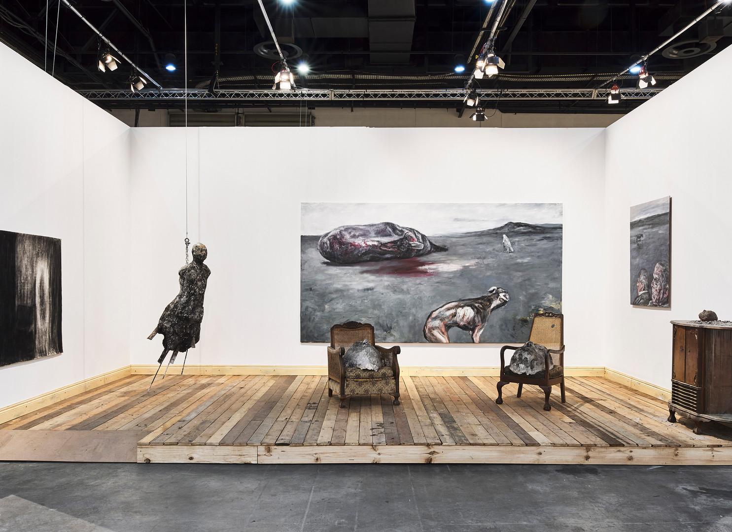 Johann Louw | Tafereel | 2019 | FNB Art Joburg | Installation View