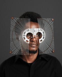 Cyrus Kabiru | Kwa Kubadilishana Utamaduni, Macho Nne: At The Dot | 2017 | Pigment Ink on HP Satin Photographic Paper | 150 x 120 cm | Edition of 5 + 2 AP
