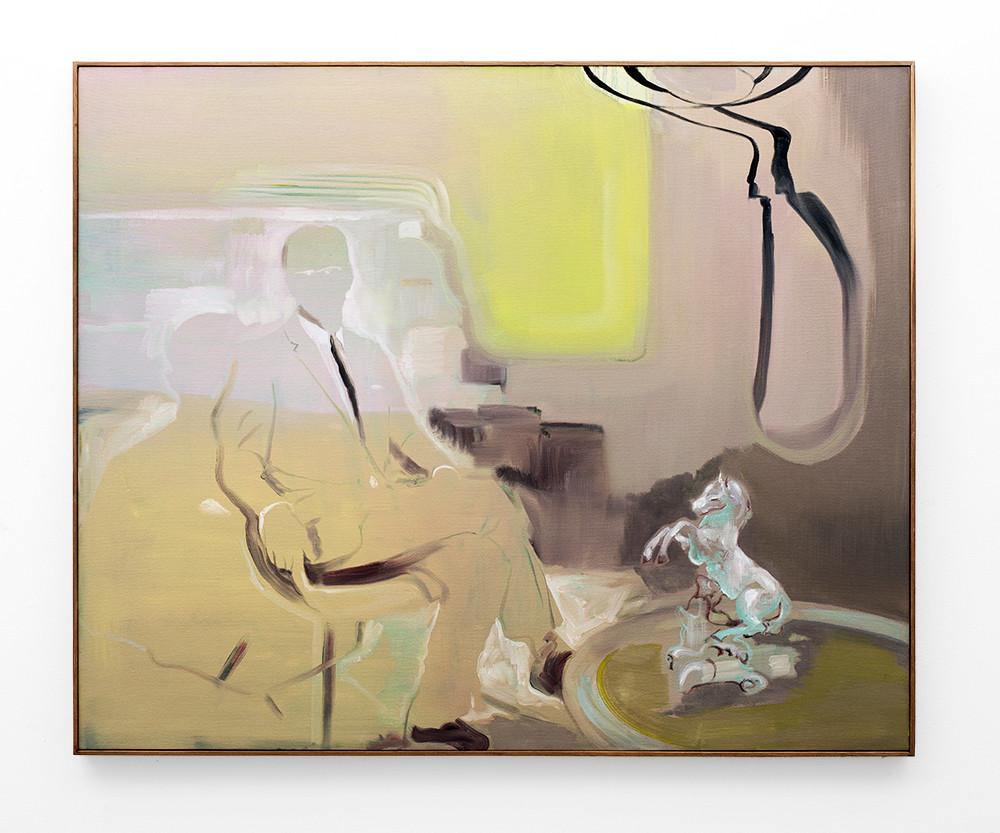 Kate Gottgens | Slip-knot | 2018 | Oil on Canvas | 110 x 150 cm