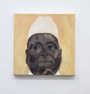 Themba Shibase | Rascal III | 2017 | Oil on Canvas | 30 x 30 cm