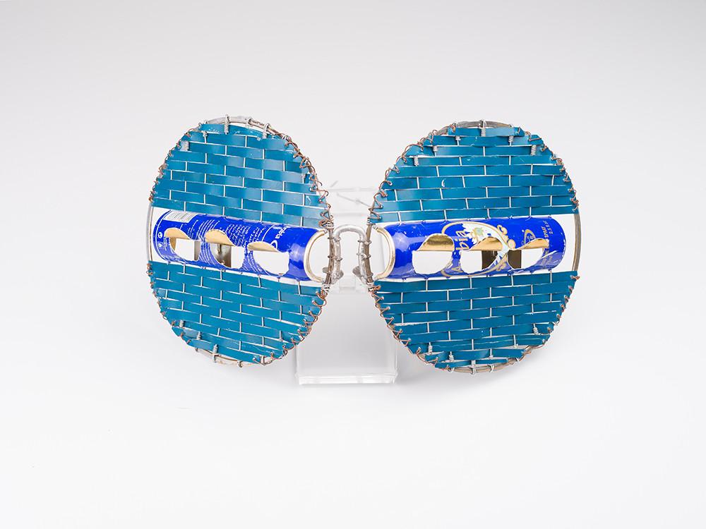 Cyrus Kabiru | Macho Nne: Blue Rushes | 2017 | Mixed Media | 18 x 28 x 10 cm