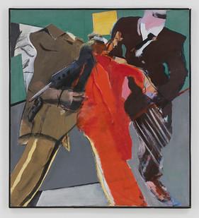 Albert Adams | The Captive | 1982 | Acrylic on Canvas | 127 x 114 cm