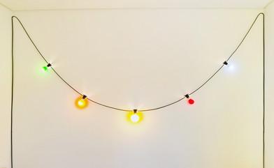 Barend de Wet | Barend Petrus De Wet | 2012 | Light Bulbs and Cable | 500 cm