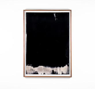 Alexandra Karakashian   Undying XLVI   2018   Oil on Sized Paper   99 x 70 cm