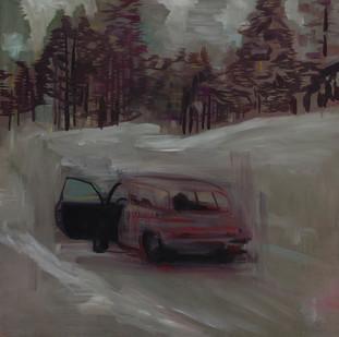 Kate Gottgens | Pines | 2014 | Oil on Canvas | 105 x 105 cm
