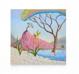 Marlene Steyn   portrait of a landscape ii   2020   Acrylic on Canvas Board   40 x 40 cm