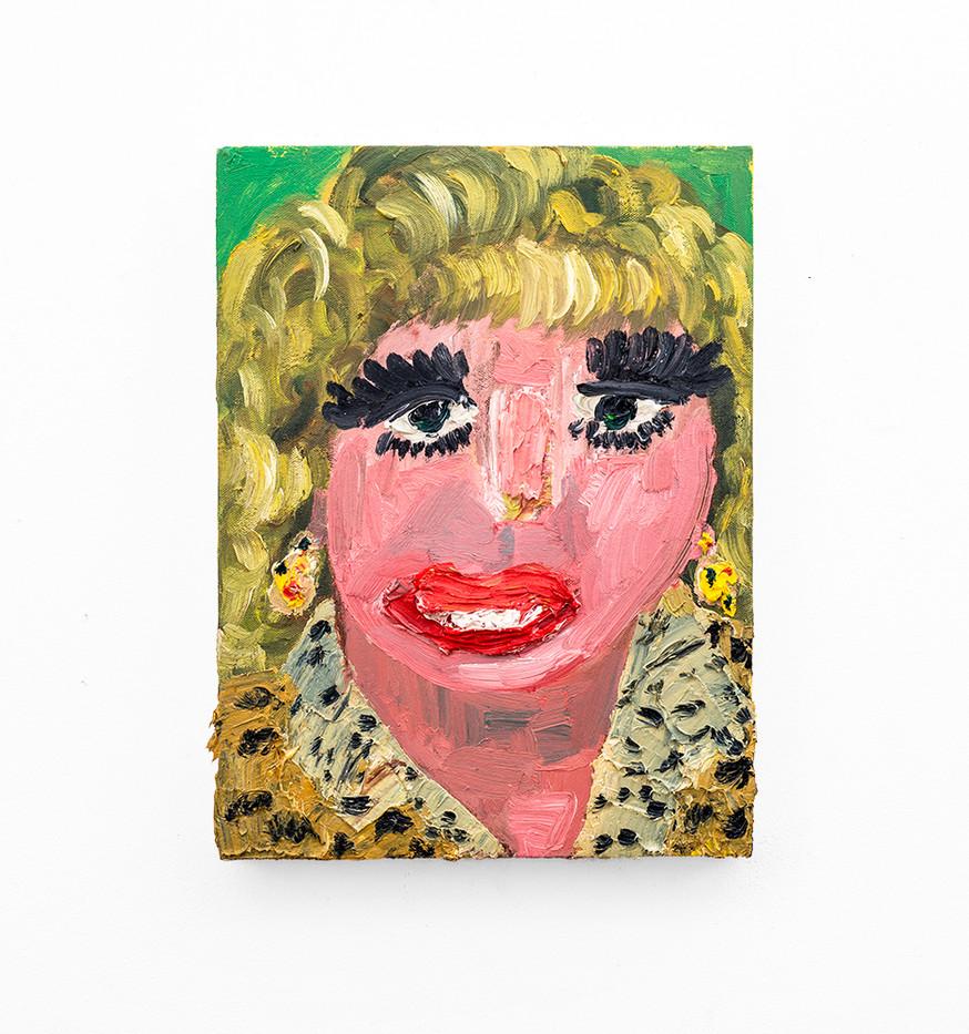 Georgina Gratrix | A Married Woman | 2018 | Oil on Canvas | 40 x 30 cm