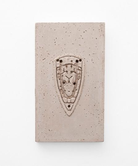 Usha Seejarim   Pressed 01   2021   Cement   50 x 29 x 2.5 cm