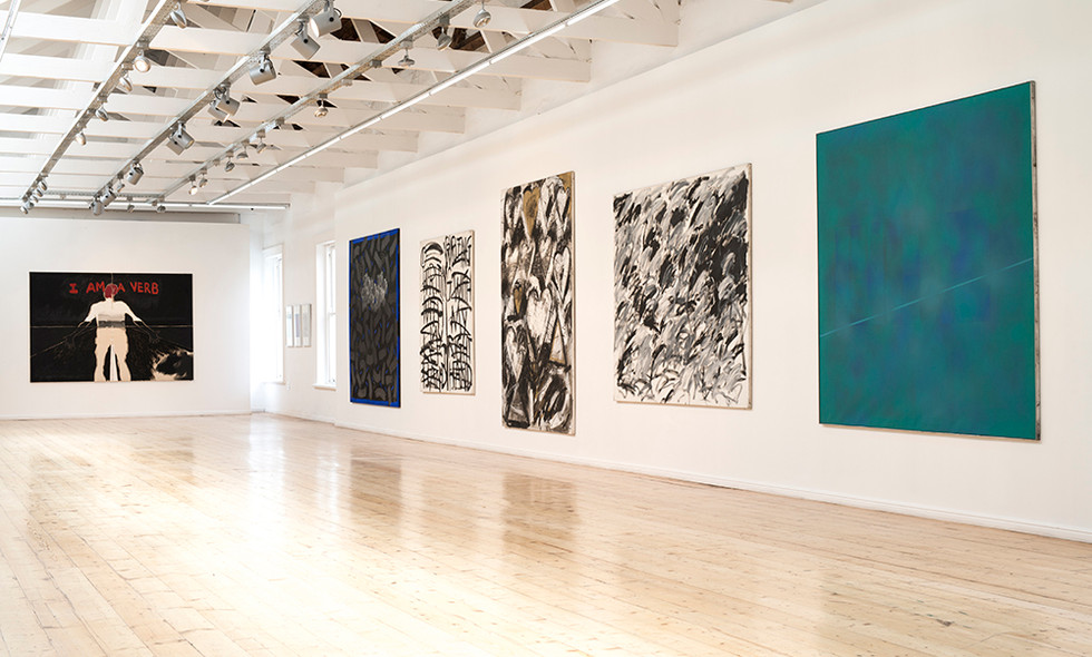 Kevin Atkinson   Re-opening 'Plato's Cave': The Legacy of Kevin Atkinson   2016   Installation View
