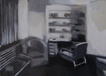 Kate Gottgens | Petty Crime VII | 2012 | Oil on Canvas | 30.5 x 40.5 cm