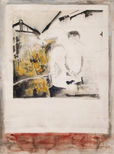 Uwe Wittwer | Doppelportrait | 2009 | Watercolour on Paper | 76 x 57 cm