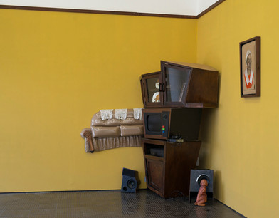 Dada Khanyisa| Father Figure | 2016 | Various Objects | Dimensions Variable
