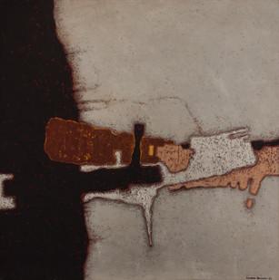 Kenneth Bakker | Untitled | 1964 | Oil on Board | 91.5 x 91.5 cm