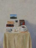 Simon Stone | Pliers | 2012 | Oil on Board | 59 x 48.5 cm