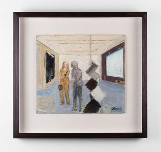 Simon Stone | Gallery | 2017 | Oil on Cardboard | 30 x 40 cm