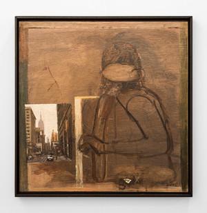 Simon Stone | Untitled | 2018 | Oil on Board | 58.5 x 58.5 cm