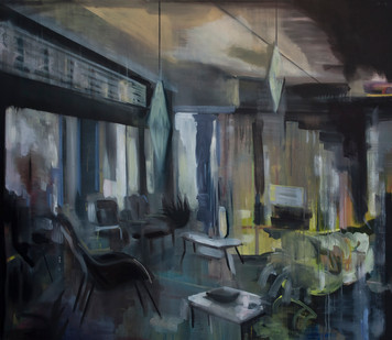 Kate Gottgens | Yesterday Now | 2014 | Oil on Canvas | 130 x 150 cm