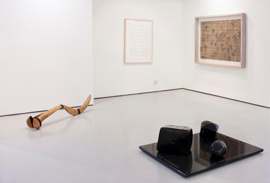 Willem Boshoff   Big Druid in His Cubicle   2013   Installation View