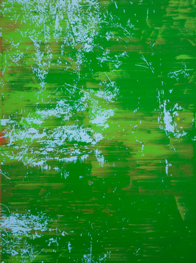 Peter Eastman | Deep Chine XXIV | 2014 | Oil on Aluminium | 60 x 45 cm