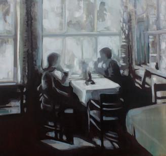 Kate Gottgens | War of Love I | 2013 | Oil on Canvas | 77 x 80.5 cm