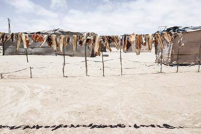 Margaret Courtney-Clarke | Miriam Pokolo's fish, DRC informal settlement, Swakopmund, 6 January 2015 | 2015 | Giclée Print on Hahnemühle Photo Rag Paper | 55.5 x 84 cm | Edition of 6 + 2 AP