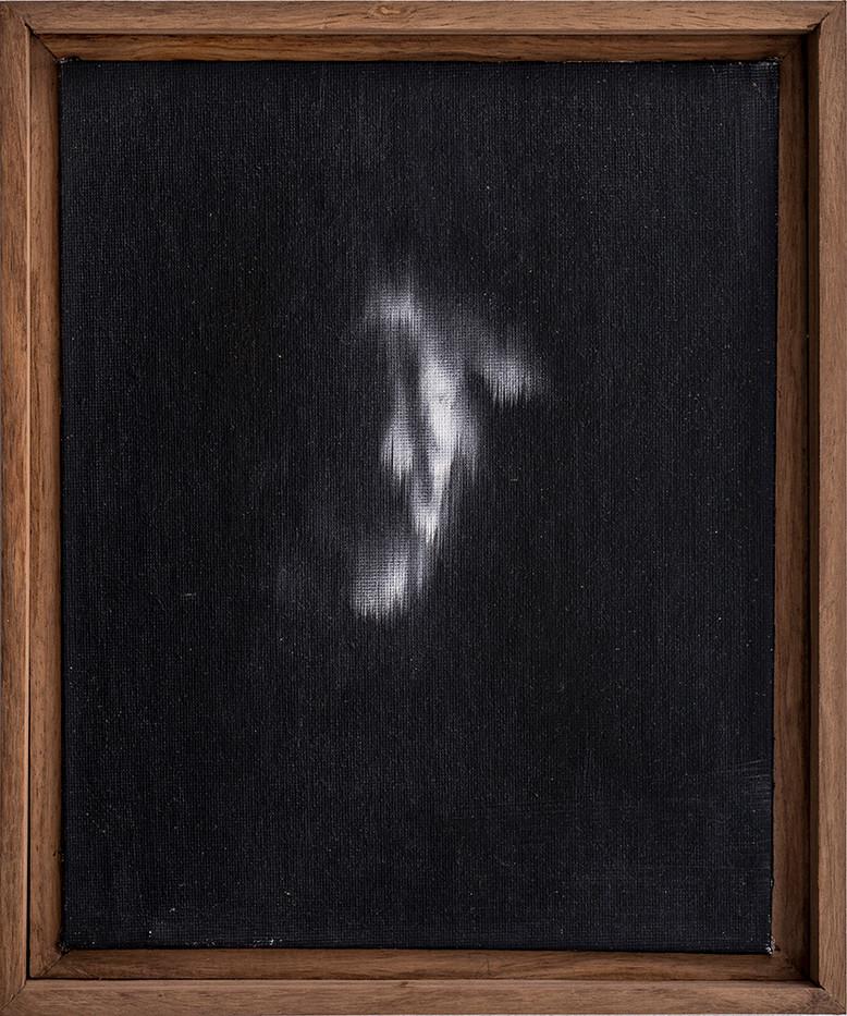 Alexandra Karakashian | Undying (Study) V | 2018 | Oil on Canvas | 25.4 x 20.3 cm
