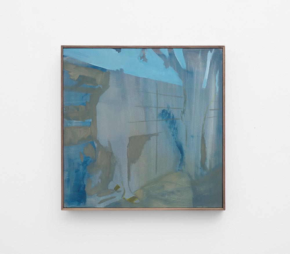 Kate Gottgens   Indefinite Man   2017   Oil on Canvas   50 x 50 cm