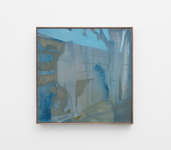 Kate Gottgens | Indefinite Man | 2017 | Oil on Canvas | 50 x 50 cm