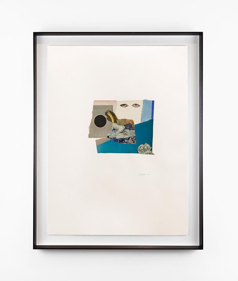 Kate Gottgens | Haiku (Moon) | 2020 | Collage on Paper | 76 x 57 cm