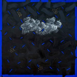 Kevin Atkinson | Untitled | c. 1990s | Acrylic on Canvas | 210 x 210 cm