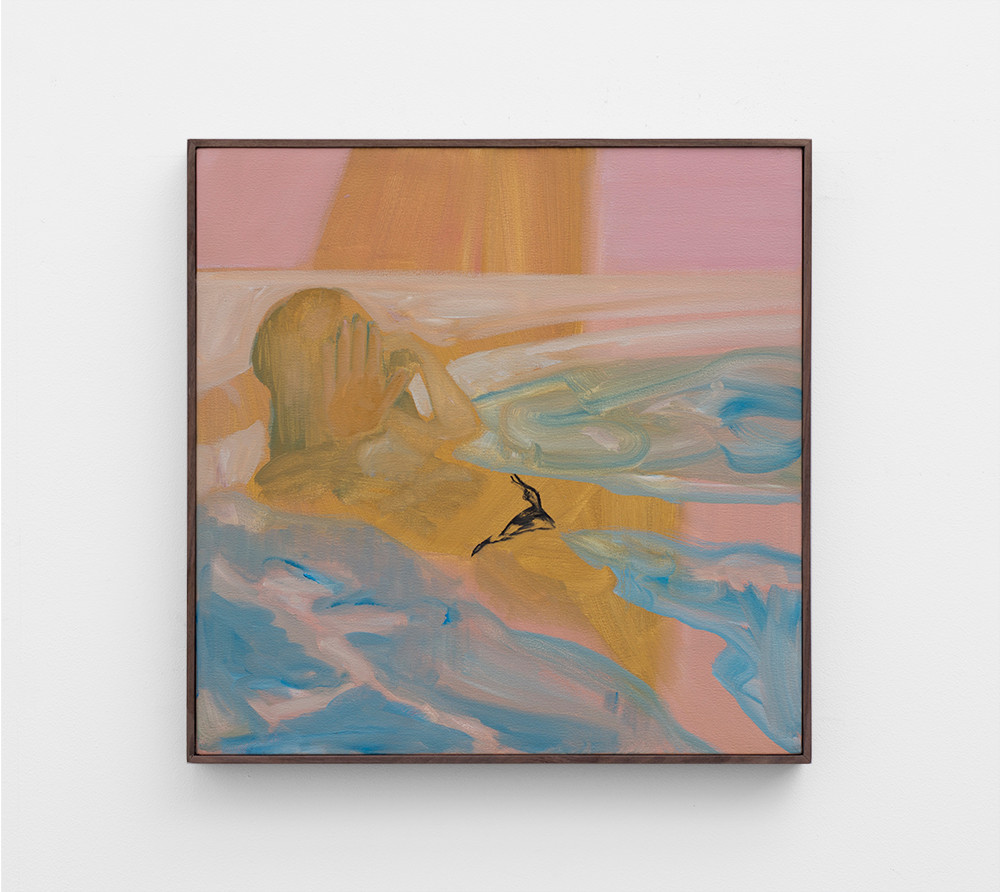Kate Gottgens   Bikini   2017   Oil on Canvas   60 x 60 cm