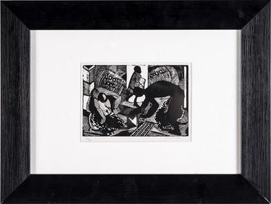 Cecil Higgs | Untitled | n.d. | Linocut | 11 x 15.5 cm
