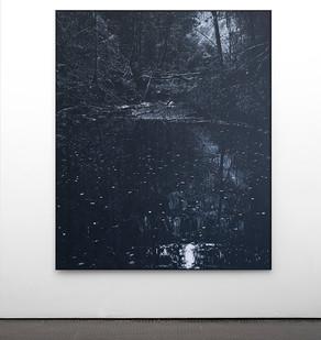 Peter Eastman | Coldstream VII | 2017 | Oil on Aluminium | 185 x 150 cm