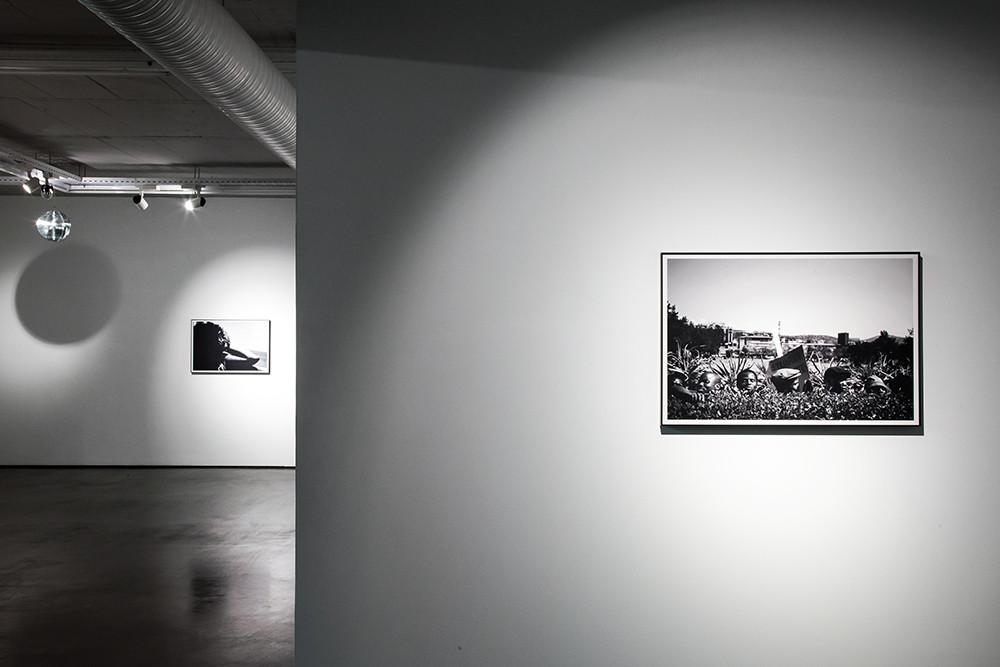 Musa N. Nxumalo   16 Shots   2017   Installation View