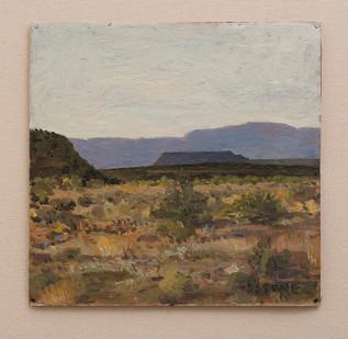 Simon Stone   Evening Koup Landscape   2016   Oil on Cardboard   29 x 29 cm