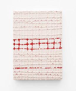 Gabrielle Kruger | Masking Off | 2020 | Acrylic on Board | 42 x 30 cm