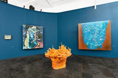 Marlene Steyn | deep she dive her | 2019 | Installation View