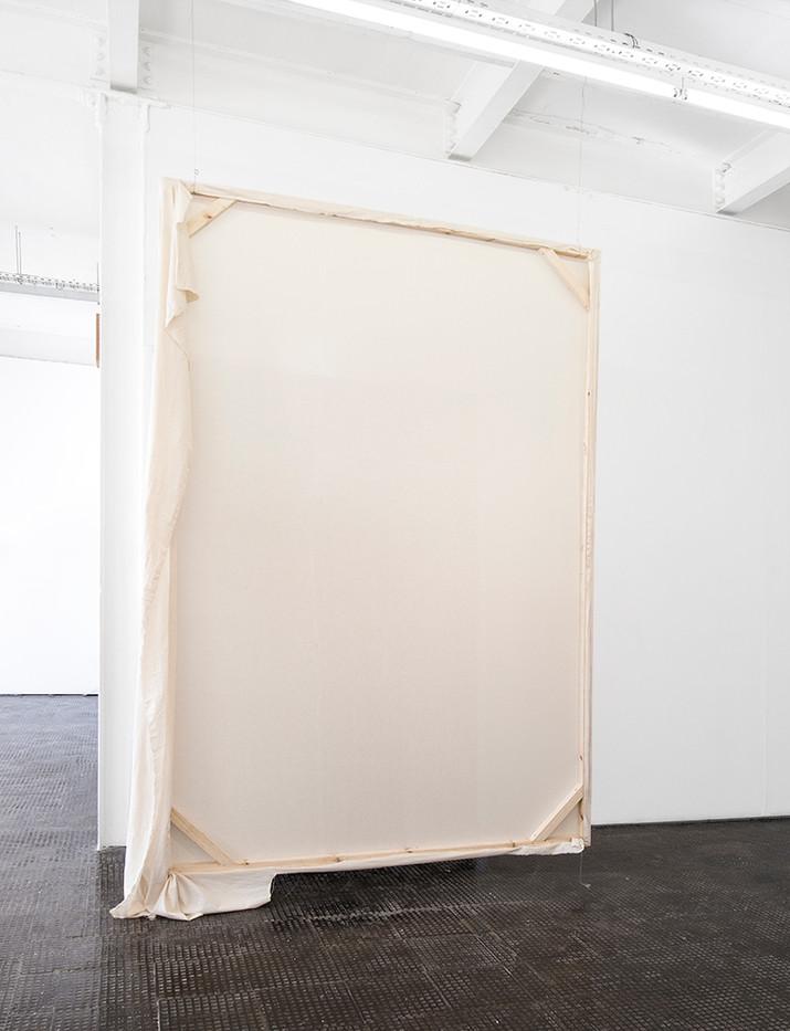 Alexandra Karakashian | Passing | 2018 | Wood and Fabric | Dimensions Variable