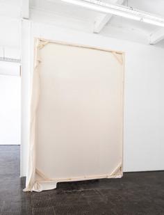 Alexandra Karakashian   Passing   2018   Wood and Fabric   Dimensions Variable