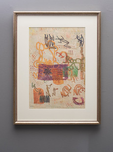Walter Battiss | Untitled | n.d. | Mixed Media | 54 x 37 cm